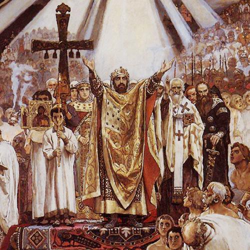 Киев стал столицей Древней Руси в IX веке
