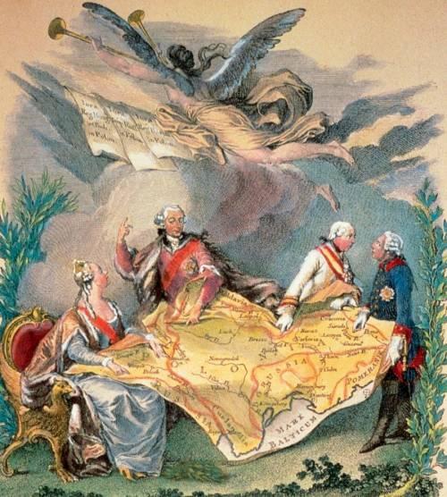 Разделы Польши в XVIII веке: была ли Россия их инициатором
