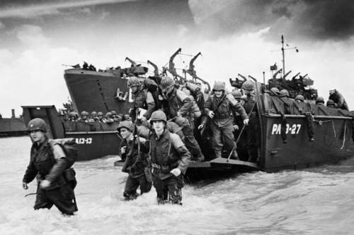 the account of events during the infamous normandy evasion in 1943 The allied invasion of europe starting with the invasion of sicily in july of 1943, and the french countryside during the normandy invasion in june.