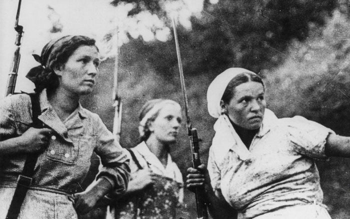 Картинки по запросу Женщины военнослужащие Красной Армии ВОВ
