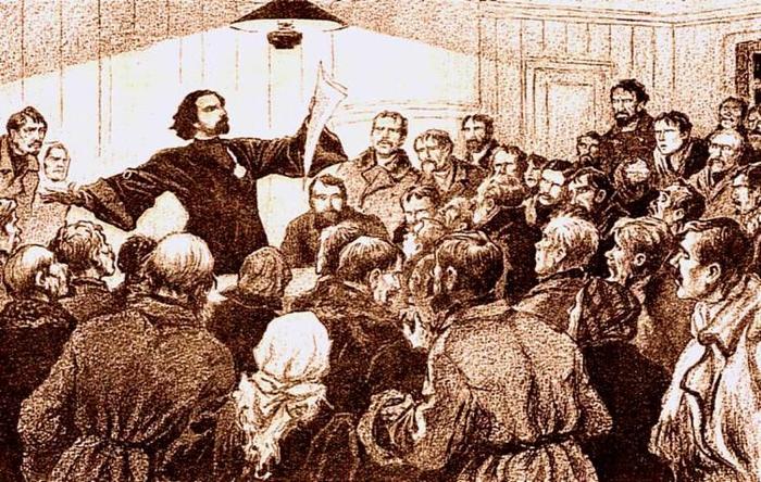 Поп Гапон и Первая русская революция