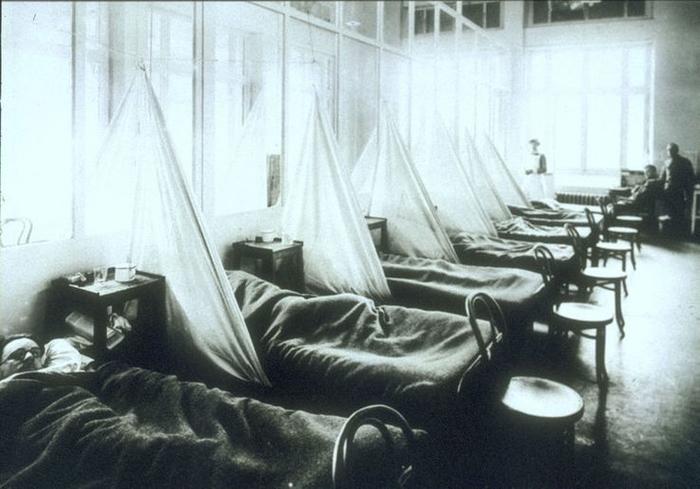 Испанский грипп эпидемия