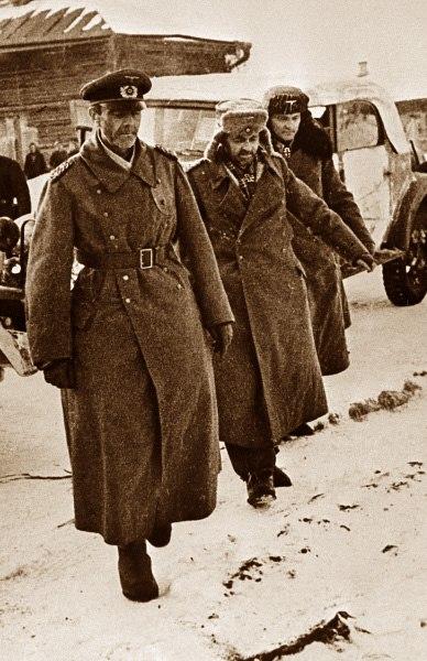 Фото 2. Пленение Паулюса 31.01.1943