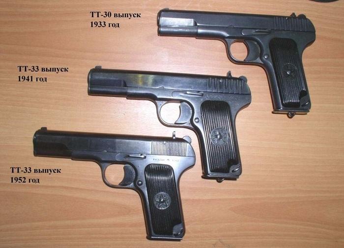 пистолет тульский токарева ворованный у браунинга