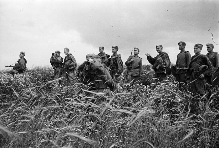 Советские разведчики на подступах ко Львову