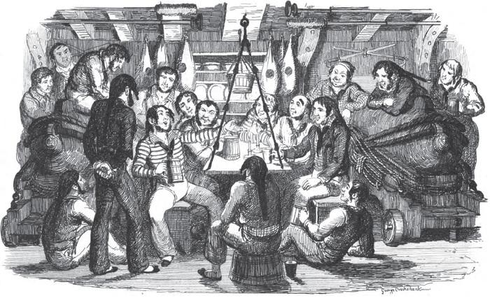 Моряки ужинают