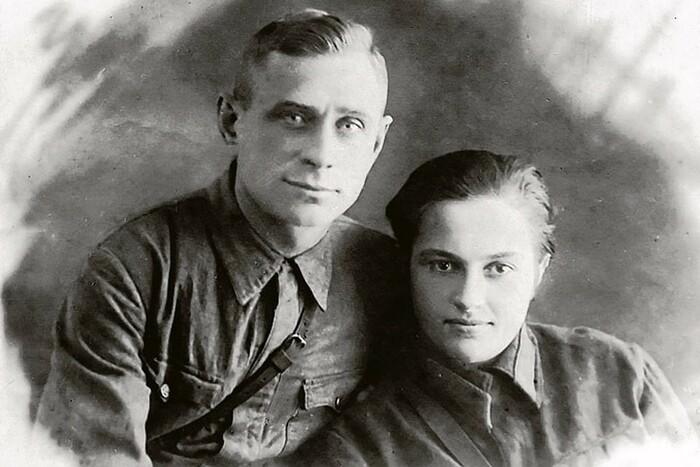 Людмила Павличенко и Леонид Киценко