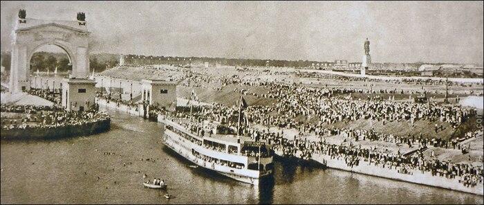Канал после открытия