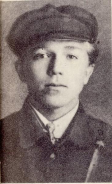 Студент Тюменского агротехнического техникума Николай Кузнецов в 1928 году