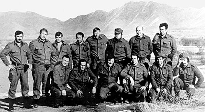 Оперативники «Альфы» в Афганистане
