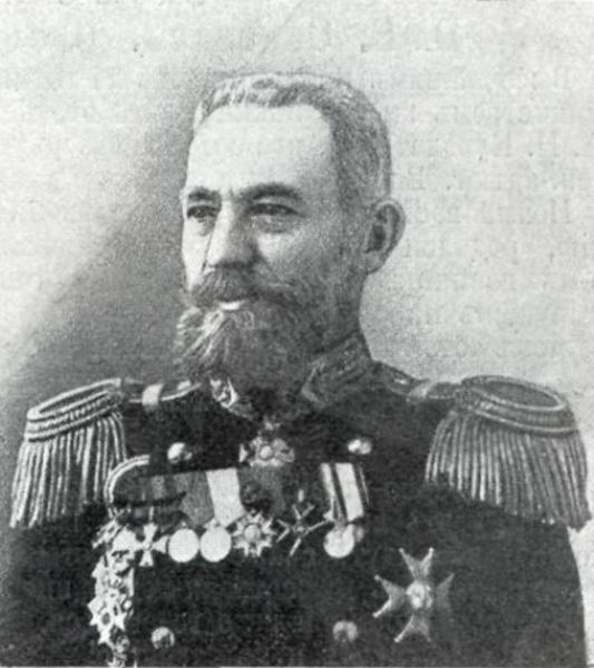 Контр-адмирал Карл Иессен, командовавший Владивостокским отрядом крейсеров во время боя в Корейском проливе 14 августа (1 ст.ст.) 1904 года