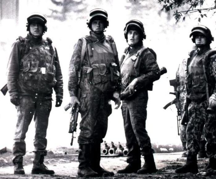 Оперативники «Альфы» в начале 90-х