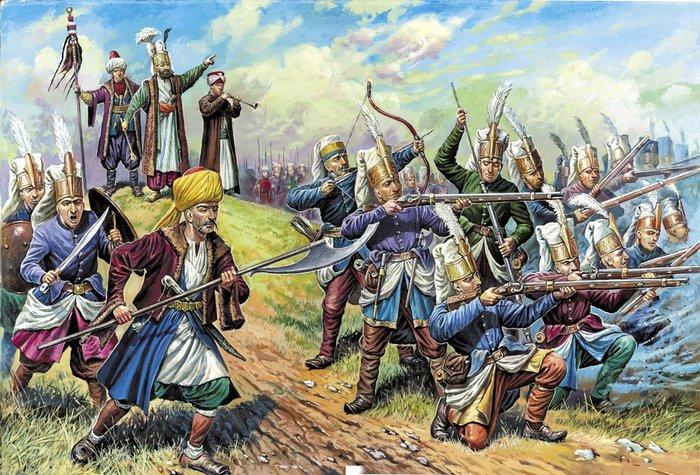 Турецкая пехота и янычары