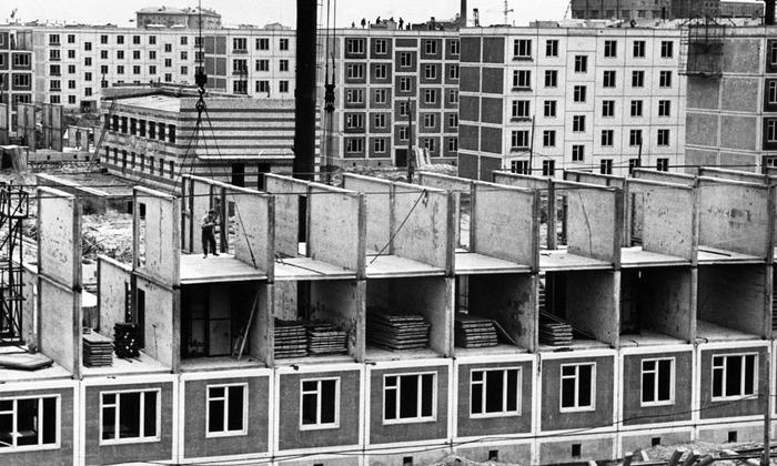 Строительство нового квартала, состоящего исключительно из жилых домов «нового экономичного типового проекта»