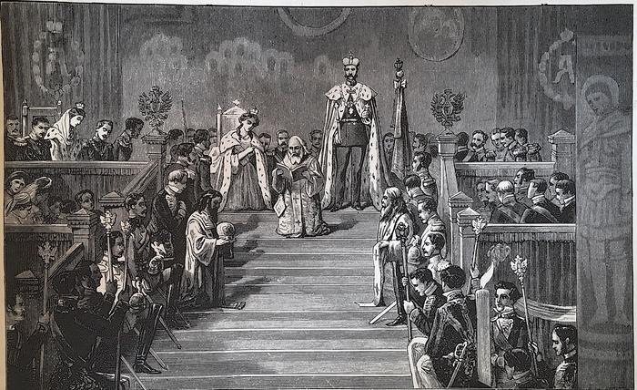 Коронация Александра II 26 августа 1856 года