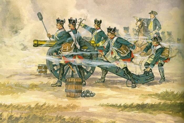 Прусское орудие