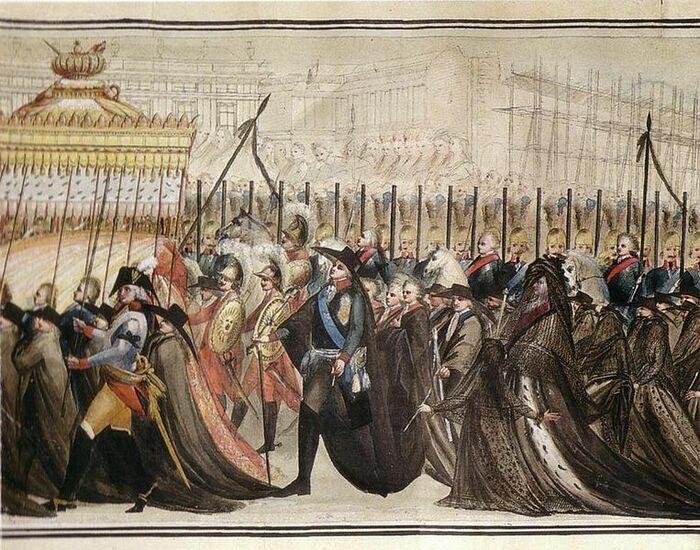 Перезахоронение Петра III