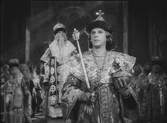 Кадр из фильма «Иван Грозный» С.М. Эйзенштейна. 1944 год