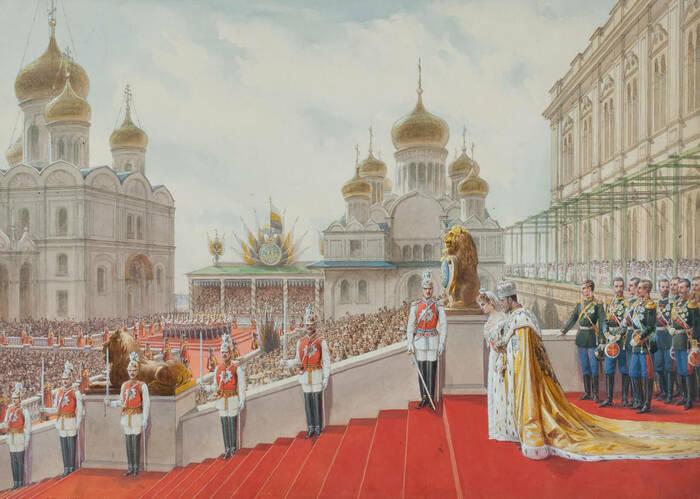 Эпизод коронации Николая II