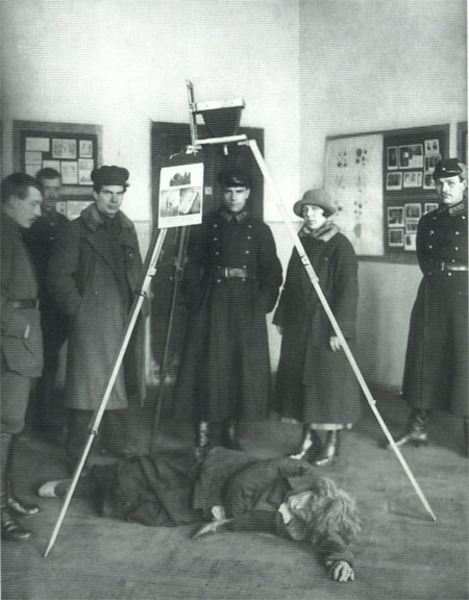 Занятия по криминалистике в музее уголовного розыска