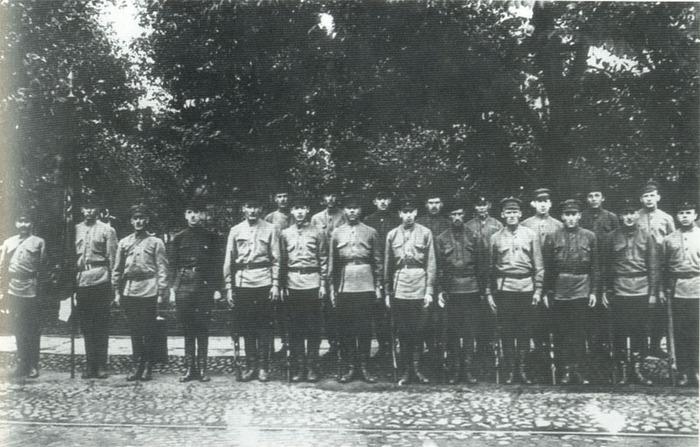 Сводно-боевой отряд сотрудников уголовного розыска Петрограда. 1919 год