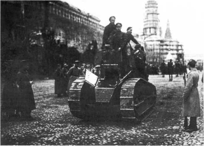 Парад на Красной площади. 1919 год
