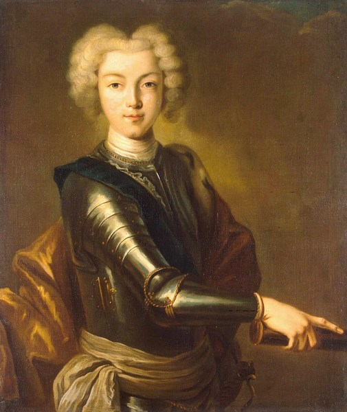 Петр II в 1720-е годы