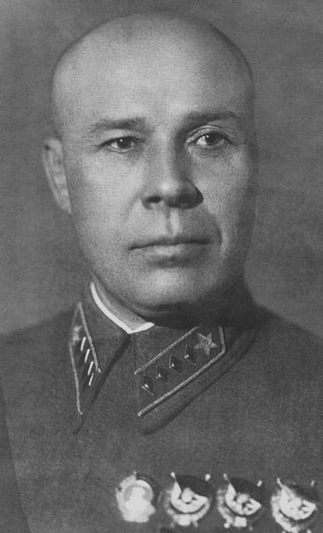 Командующий войсками Северо-Западного фронта командарм 1-го ранга Семен Тимошенко