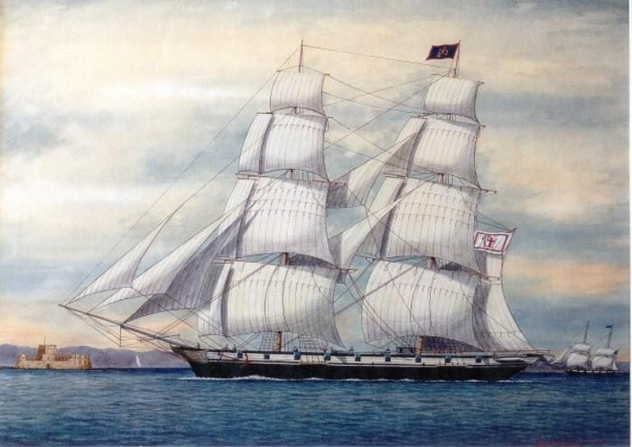 Корабль Бубулины «Агамемнон»