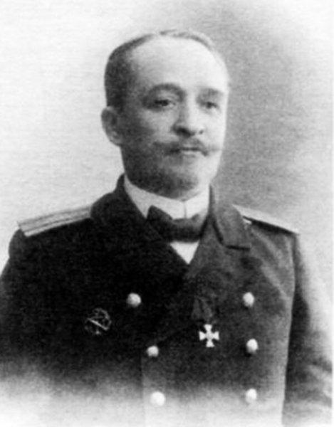 Иванов Федор Николаевич командир минного транспорта «Амур»