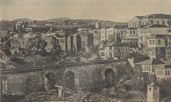 Вид Трапезунда. Иллюстрация из журнала «Нива» №25 за 1916 год