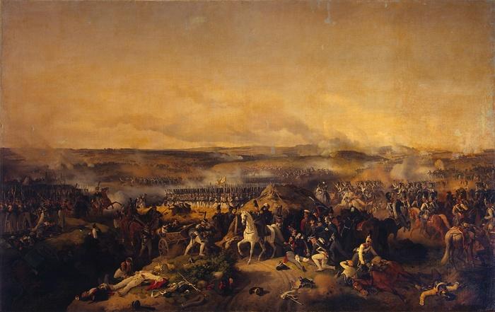 Бородинское сражение. Художник Петер Гесс. 1843 год